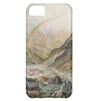 John Atkinson Grimshaw-A Mountain Road, Flood Time iPhone 5C Cover