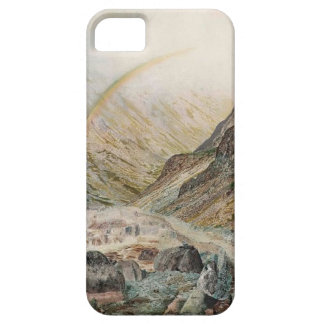 John Atkinson Grimshaw-A Mountain Road, Flood Time iPhone 5 Cases