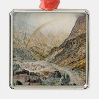 John Atkinson Grimshaw-A Mountain Road, Flood Time Ornament