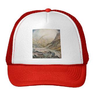 John Atkinson Grimshaw-A Mountain Road, Flood Time Hat