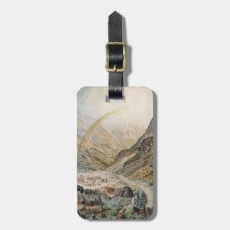 John Atkinson Grimshaw-A Mountain Road, Flood Time Bag Tags
