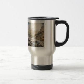 John Atkinson Grimshaw-A Mountain Road, Flood Time Coffee Mug