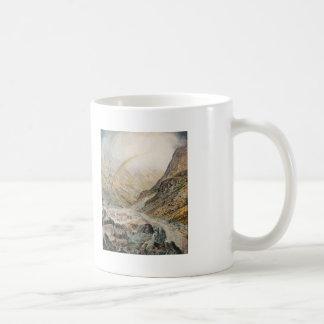 John Atkinson Grimshaw-A Mountain Road, Flood Time Coffee Mugs