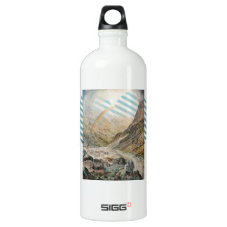 John Atkinson Grimshaw-A Mountain Road, Flood Time SIGG Traveller 1.0L Water Bottle