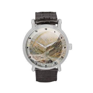 John Atkinson Grimshaw-A Mountain Road, Flood Time Wristwatch