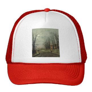 John Atkinson Grimshaw- A Wintry Moon Trucker Hats