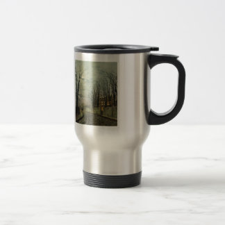 John Atkinson Grimshaw- A Wintry Moon Coffee Mugs
