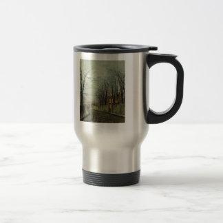 John Atkinson Grimshaw- A Wintry Moon Mugs