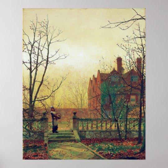 John Atkinson Grimshaw Autumn Gold Poster