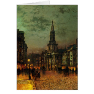John Atkinson Grimshaw- Blackman Street, London Greeting Card
