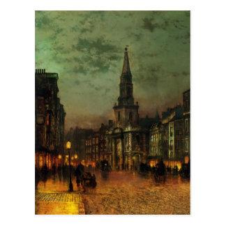 John Atkinson Grimshaw- Blackman Street, London Postcard