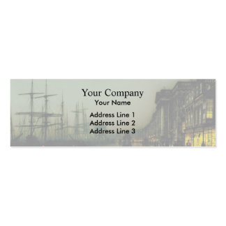John Atkinson Grimshaw- Canny Glasgow Pack Of Skinny Business Cards