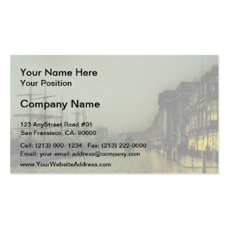 John Atkinson Grimshaw- Canny Glasgow Pack Of Standard Business Cards