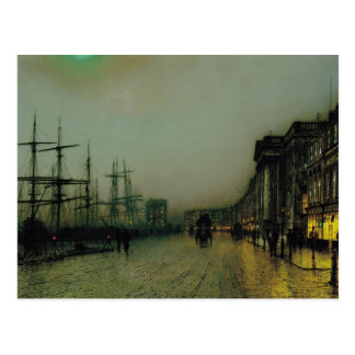 John Atkinson Grimshaw- Canny Glasgow Postcard