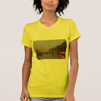 John Atkinson Grimshaw- Liverpool from Wapping T-Shirt