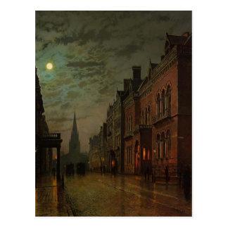 John Atkinson Grimshaw- Park Row, Leeds Postcard