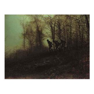 John Atkinson Grimshaw- Poachers Postcard