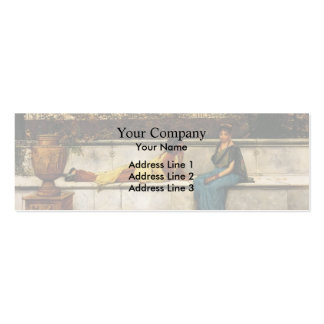 John Atkinson Grimshaw- Two Thousand Years Ago Pack Of Skinny Business Cards