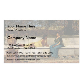 John Atkinson Grimshaw- Two Thousand Years Ago Pack Of Standard Business Cards