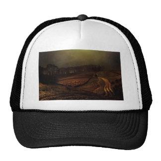 John Atkinson Grimshaw- Under The Harvest Moon Mesh Hat