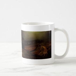 John Atkinson Grimshaw- Under The Harvest Moon Coffee Mug