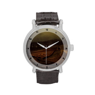 John Atkinson Grimshaw- Under The Harvest Moon Wrist Watches