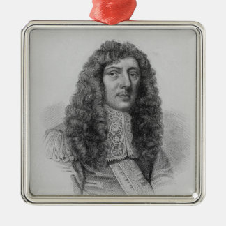 John Aubrey, engraved by Charles Eden Wagstaff Christmas Ornament