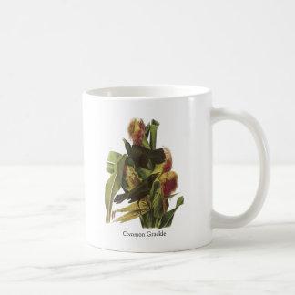 John Audubon Common Grackle Print Basic White Mug