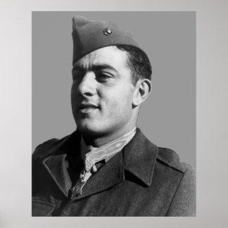 John Basilone -- WW2 Hero Poster