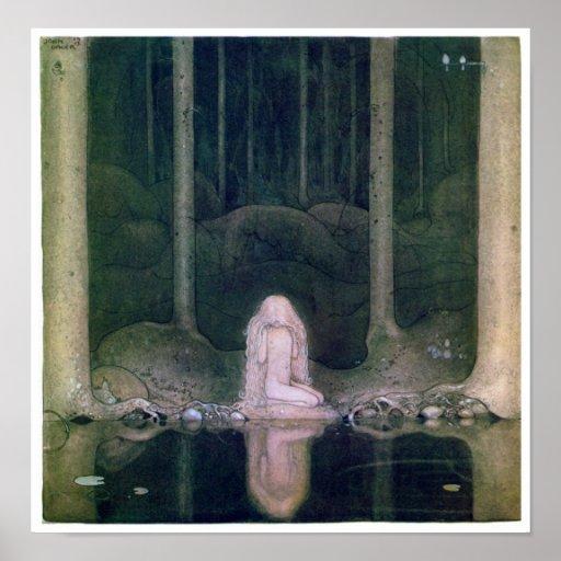 John Bauer ( 1913 ) Tuvstarr  Poster