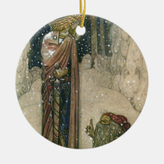 John Bauer - Princess and Troll Christmas Ornament
