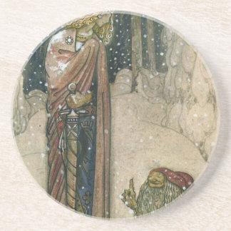 John Bauer - Princess and Troll Coasters