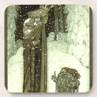 John Bauer The Princess and the Troll Drink Coasters