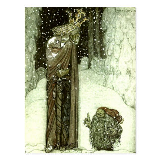 John Bauer The Princess and the Troll Post Cards