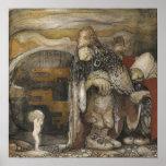 John Bauer Trolls Poster