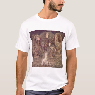 John Bauer - Trolls with an abducted princess T-Shirt