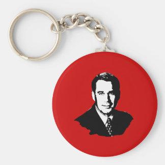 John Boehner Basic Round Button Key Ring