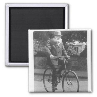John Boyd Dunlop Square Magnet