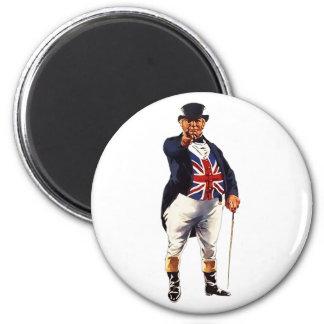 John Bull 6 Cm Round Magnet