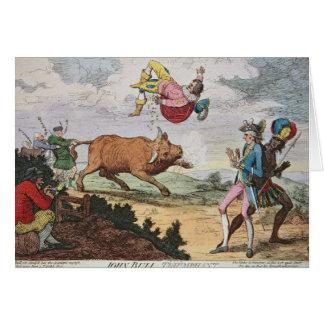 John Bull Triumphant Card