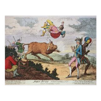 John Bull Triumphant Postcard