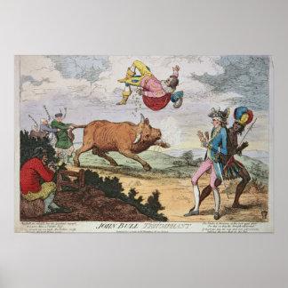 John Bull Triumphant Poster