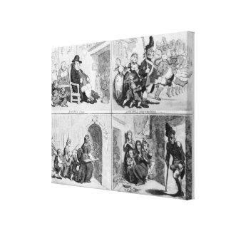John Bull's Progress Canvas Print