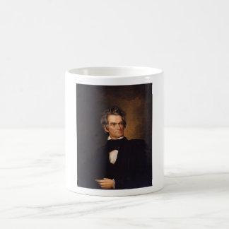 John C. Calhoun -- American History Painting Basic White Mug