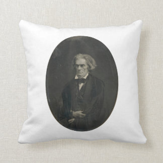 John C. Calhoun by Mathew Brady 1849 Throw Pillow