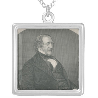 John Campbell, 1st Baron Campbell of St. Silver Plated Necklace