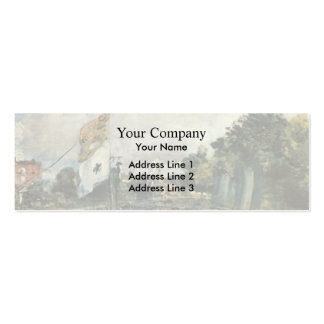 John Constable- Celebration of the General Peace Pack Of Skinny Business Cards