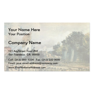 John Constable- Celebration of the General Peace Pack Of Standard Business Cards
