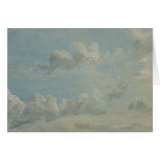 John Constable - Cloud Study Card