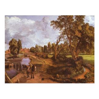 John Constable- Flatford Mill Postcard